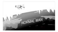 Normal Man Title Card Design