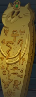 Egyptian Cat Sarcophagus