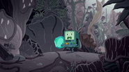 DL BMO in the failed Jungle Pod