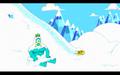 S1e3 iceclops sitting in snow