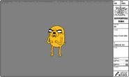 Modelsheet angryfacedjake