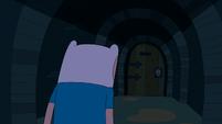 S3e15 Finn approaching door