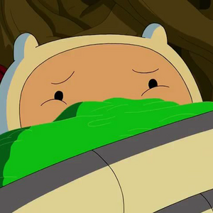 S5 E12 Finn watching with mouth covered.png