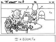 Son of Rap Bear storyboard panel