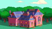 S9e2 Tree Trunks' house