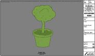 Modelsheet grassyhouseplant