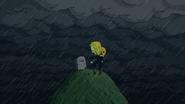 S6e21 Jake and Tiffany at Finn's grave