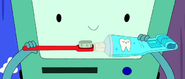 S4e2 BMO with toothpaste and brush