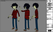 Modelsheet Marshall Lee