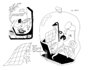 BMO concept art by Michael DeForge No. 21