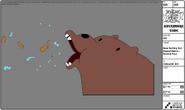 Modelsheet - Bearspittingoutpeanutdebris