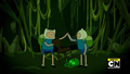 S10e13 Finn and Fern defeat Grass Demon