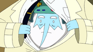 S9e2 Ice King pearing out of coat