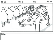High Strangeness storyboard-panel