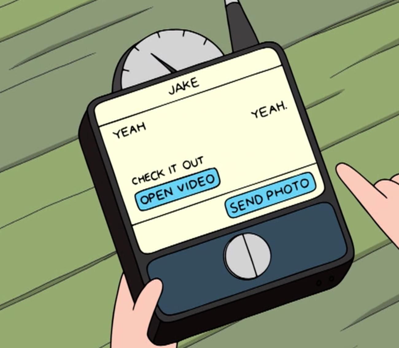 Finn's Cool Phone