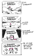 Bonnibel Bubblegum title card concepts by storyboard artist and writer Hanna K Nyström