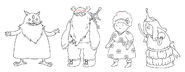 Come Along with Me character designs by Andy Ristaino (8)