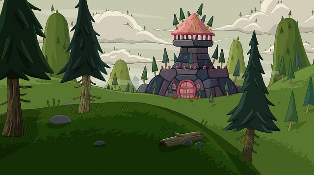 Muscle Princess's castle