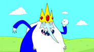 Ice King with Snowball