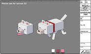 Modelsheet Dog Mc
