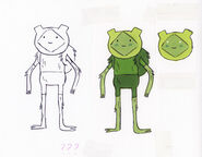 Adam Muto's original concept for Fern and mods by writer and storyboard artist Tom Herpich