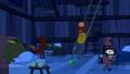 S6e12 Finn and Jake sitting on ladder
