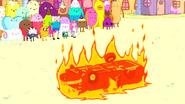 S5e39 Hot Daniel burning