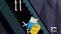 S2e17 Finn and Jake on escalator
