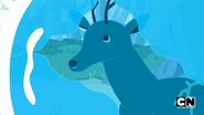 S5e14 Deer being frozen
