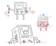BMO character designs by Andy Ristaino No. 3