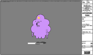 ModelsheetLumpy Space Princess with Side Mouth