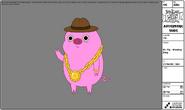 Modelsheet mr.pig wearingbling
