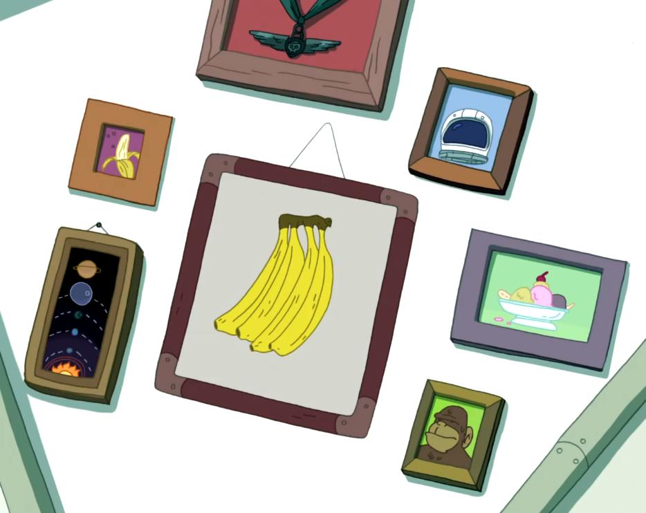 Banana Man's house