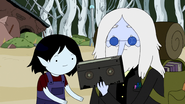 S5e14 Simon and Marcy watching a movie