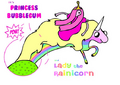 Its pb and Lady the rainicorn