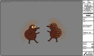 Modelsheet theporcupineinsunsetcolors