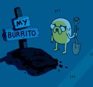 S3e1 burrito burial