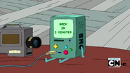 S2e23 bmo back in five minutes