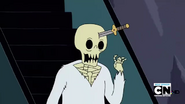 S2e17 Skeleton waving