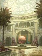 Lalibela Palace Inside