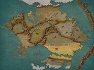 Continente Occidentale Map