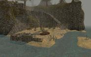 Smugglers' Cove, Shore