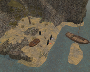 Smugglers' Cove, Landing Party