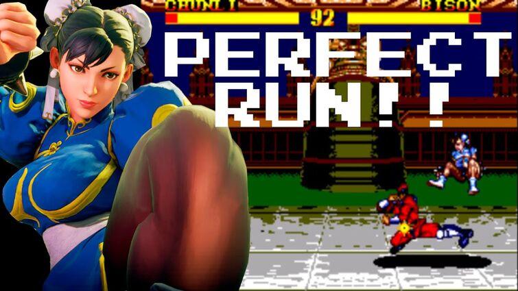 Street Fighter II (PERFECT, CHUN- LI), NO DEFEAT!! Playthrough