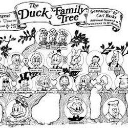 The Duck Family Tree