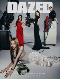 Aespa Dazed Korea March 2021