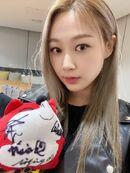 Giselle Sohu Weibo 20.11.30 3