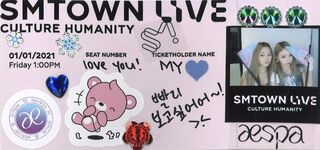 SMTOWN LIVE Culture Humanity Giselle Winter Teaser 2
