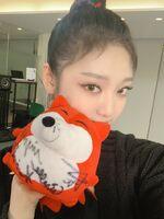 Ningning Sohu Weibo 20.11.30 3