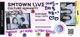 SMTOWN LIVE Culture Humanity Karina Ningning Teaser 1